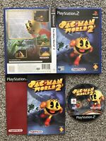 PAC-MAN WORLD 2 SONY PLAYSTATION 2 PS2 GAME WITH MANUAL OFFICIAL UK PAL VGC