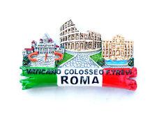 Souvenir Fridge Magnet Italy Rome Vatican/ Colosseum/trevi Fountain 3d Magnet
