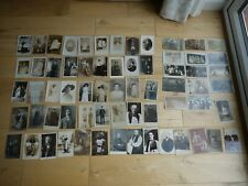 COLLECTION OF 65 VINTAGE POSTCARDS RP PEOPLE SOCIAL HISTORY MOST PRE WAR WWI
