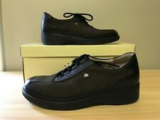 Finn Comfort Santiago Dark Brown Oxford Walking Shoe Womens Size 7