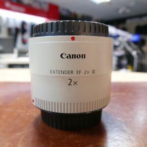 Used Canon Extender EF 2.0x III - 1 YEAR GTEE