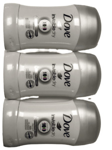 Dove Anti-Perspirant Stick Invisible Dry 40ml x 3 Pieces