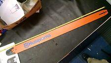 """NEW 44"""" Husqvarna Chainsaw .404 .063 bar HT343-128 wXtra tip 2100 2101 395 3120"""
