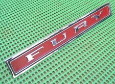 NEW 1971 71 Plymouth Fury I II III GRILLE NAMEPLATE takeoff 3443304
