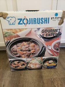 Zojirushi Gourmet Electric Skillet EP-EVC25 Electric Multi-Purpose Pan 1300W new