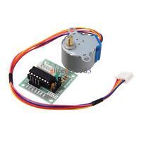 2PCS 5V Stepper Motor 28BYJ-48 + Drive Test Module Board ULN2003 5 Line 4 Phase