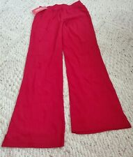 Bnwt Gymboree Girls Size 9 Red Stretch Boot Cut Pants