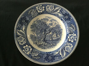 Wood and Sons Woodland plate British Earthenware
