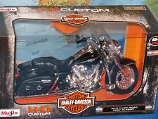 Diecast 2014 Harley Davidson Sportster Iron 883 Motorcycle Model 1-12 by Maisto