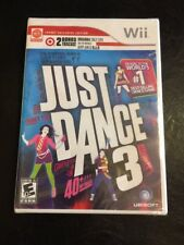 Just Dance 3 for (Nintendo Wii) Dance Game SEALED NEW Ubisoft 2011