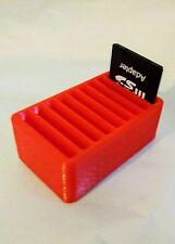 Tarjeta de memoria SD Escritorio Ordenado Almacenamiento Caja - 9 ranuras! * Fabricado Reino Unido *