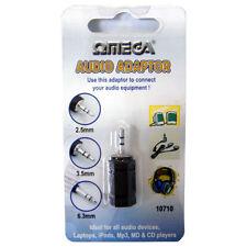 Omega 3.5mm to 2.5mm Audio Adaptor (10711)