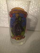 The Wizard Of Oz WICKED WITCH OF THE WEST 50th Anniversary GLASS Coca Cola 1989