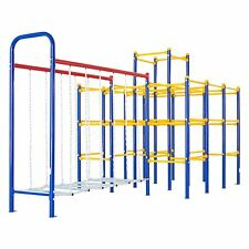 Jungle Gym Monkey Bars Hanging Bridge Outdoor Toys Gyms Playset kids Playground