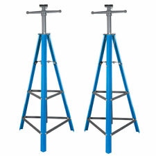 "2 Ton Tri-Pod Under Hoist Stand 53"" - 80"" Support Hoist Lift Floor Car Stand x2"