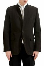 Dolce & Gabbana Men's Brown Two Button Blazer Sport Coat US 42 IT 52