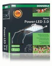 Dennerle Nano Power LED 5.0 Aufsteckleuchte für Nanoaquarien NEU & OVP