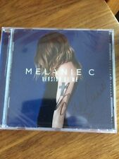 MELANIE C - VERSION OF ME -  SIGNED CD - NEW - sealed - spice girls
