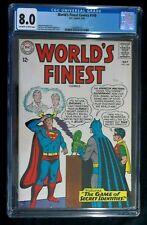 World's Finest #149 CGC 8.0 1st apperance of the Bat-van May 1965