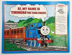 Vintage Thomas The Tank Engine And Friends Train 80s 1984 Puzzle