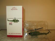 New Listing2013 Hallmark Keepsake Ornament Bell Huey Uh-1D Helicopter in box!