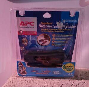 APC Notebook Laptop Portable Surge Protector SurgeArrest P. Notebook Pro 3