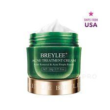 BREYLEE Anti Acne Pimple Treatment Cream w. Tea Tree Oil & Plant Extracts - NIB