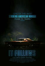 72762 IT FOLLOWS Movie Horror 2015 Wall Print POSTER Affiche