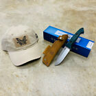 Benchmade 162 Bushcrafter Fixed 4.43' S30V Satin Blade, Green G10 with HAT BNIB