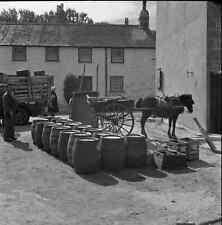 B/W 6x6 Negative Hughtown Isles Of Scilly Street Scene 1949 +Copyright Z827