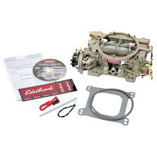 Edelbrock 1409 Performer Series 600 CFM Electric Choke Marine Carburetor