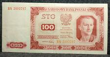 Polen / Poland 100 Zlotych von 1948 in guter gebrauchter Erhaltung..797 !!⓴