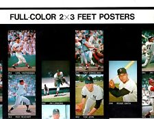 1969 Major League Posters Advertising Sheet