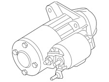 Genuine Ford Starter BE8Z-11002-A