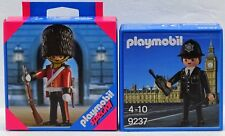 BOBBY POLICE + ROYAL GUARD Playmobil EXCLUSIV EDITIONS 9237 + 4577 OVP NEU RAR !
