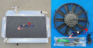 ALUMINUM RADIATOR&FAN FOR SIDE-FILL MG MGB GT/ROADSTER 1963-1968 64 66 67 1964