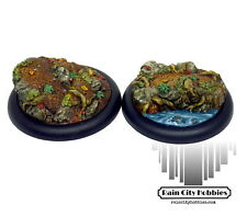 50mm Haunted Forest Scenic Inserts x2 - Resin - Malifaux - Warmachine