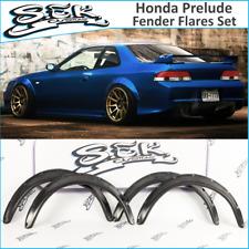Honda Prelude Fender Flares Set (97-01), Wide Body Kit, ABS plastic.