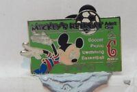 Disney  Badge Disney Cast Pin Party C Ticket Mickey's Retreat Pin 2005 Ltd Ed