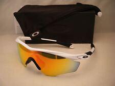 Oakley M2 XL Polished White w Fire Iridium Lens NEW sunglasses (oo9343-05)
