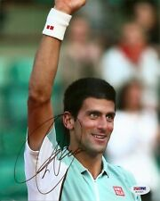 Novak Djokovic Tennis Signed Auto 8x10 PHOTO PSA/DNA COA
