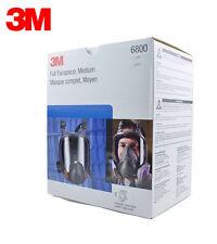 3M 6800 Full Facepiece Reusable Respirator 3M Full Face Gas Mask