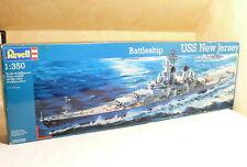 Revell 05059 Plastik Bausatz Schlachtschiff  USS New Jersey  1: 350  OVP