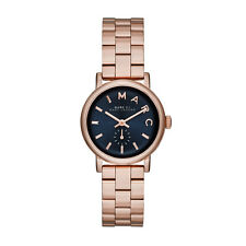 NEW MARC JACOBS MBM3332 LADIES ROSE GOLD BAKER MINI WATCH - 2 YEAR WARRANTY