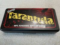 Dart World Tarantula - Element - 80% Tungsten 18g Soft Tip Dart Set - Fast Ship