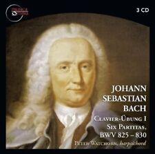 Peter Watchorn, John - Clavier-Ubung I / Six Partitas / BWV 825 - 830 [New CD]