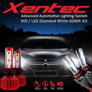 Xentec Xenon Light HID LED Headlight Kit H16 886 H10 Hb2 880 H3 894 881 899