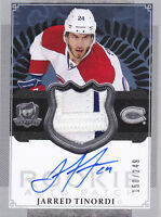 13-14 The Cup Jarred Tinordi /249 Auto PATCH Rookie Canadiens 2013