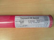 100 Stk. 4,0x350mm 1.4551 Schweiß-Elektroden Thermanit HE Spezial VA Edelstahl