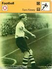 FICHE CARD : Tom Finney Angleterre ENGLAND FOOTBALL 70s